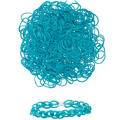 Turquoise Rubber Loom Bands 300ct