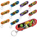 Teenage Mutant Ninja Turtles Skateboard Key Chains 48ct