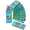 Bubble Guppies Crayons 12ct