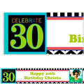 30th Celebration Custom Photo Banner