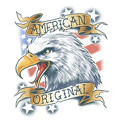 American Eagle Biker Tattoo