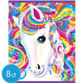 Lisa Frank Rainbow Horse Favor Bags 8ct