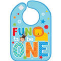 Wild at One Boy's 1st Birthday Bib