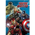 Avengers Age of Ultron Invitations 8ct