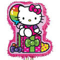 Pull String Rainbow Hello Kitty Pinata