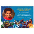 Skylanders Custom Photo Invitation