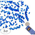 Royal Blue Confetti Party Poppers 3ct