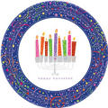 Playful Menorah Hanukkah Party Supplies
