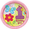 Hugs & Stitches Girl's 1st Birthday Party Supplies