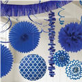 Royal Blue Decorations