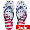 Stars & Stripes Flip Flops