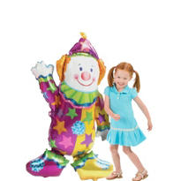 Giant Gliding Juggles the Clown Balloon 44in