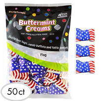 US Flag Pillow Mints 50ct