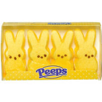Yellow Bunny Peeps 4ct