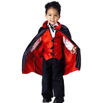 Toddler Boys Vampire Costume