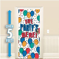 Balloon Party Door Decoration