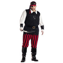 Adult Cutthroat Pirate Costume Plus Size