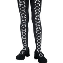 Child Bone Lace Tights