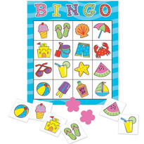 Beach Bingo Game 120pc