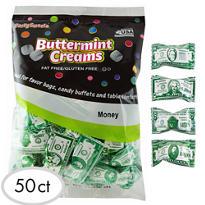 Money Pillow Mints 50ct