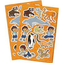 Go, Diego, Go! Stickers 22ct