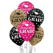 Colorful 2013 Latex Graduation Balloons 12in 20ct