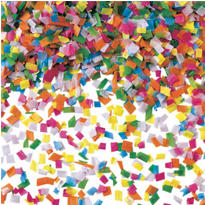 Festive Multicolor Tissue Confetti 2oz