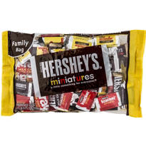 Hershey's Chocolate Miniatures Mix 65pc