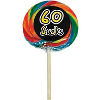 Sweet 60 60th Birthday Lollipop