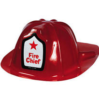 Fire Engine Fun Fireman's Party Hat