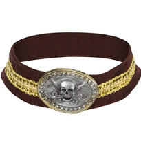 Pirate Skull Choker