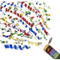 Super Confetti Party Poppers 3ct