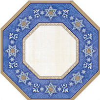 Judaic Traditions Passover Dinner Plates 8ct