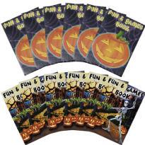 Halloween Activity Pads 12ct