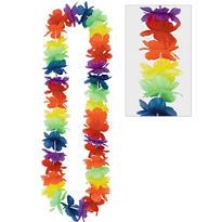 Rainbow Hawaiian Lei