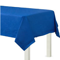 Royal Blue Paper Table Cover