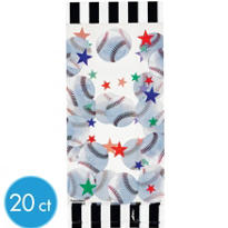 Baseball Large Party Bags 20ct