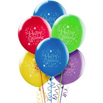 Happy Retirement Balloons 15ct