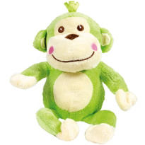 Dangles Green Monkey Plush 10in
