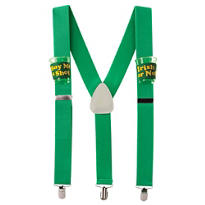 St. Patricks Day Drinking Suspenders 42in