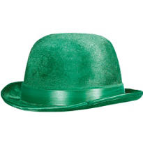 Velour St. Patricks Day Derby Hat