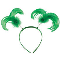St. Patricks Day Feather Head Bopper