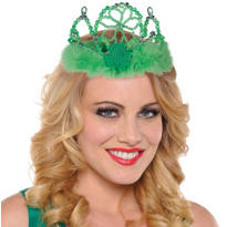 St. Patricks Day Beaded Tiara
