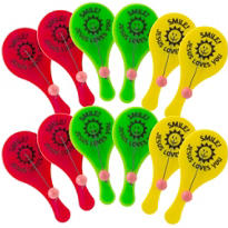 Religious Paddle Balls 12ct