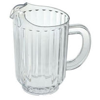 Heavy Clear Plastic Pitcher 64oz