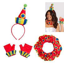 Sassy Clown Costume Kit