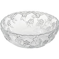 Clear Plastic Vine Bowl 9 3/4in