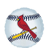 St. Louis Cardinals Foil Balloon 18in