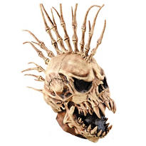 Latex Fin Skull Mask