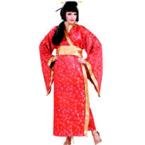 Adult Madame Butterfly Geisha Costume Plus Size